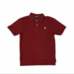 U.S. POLO ASSN. Boys Polo Shirt Size L (14-17)
